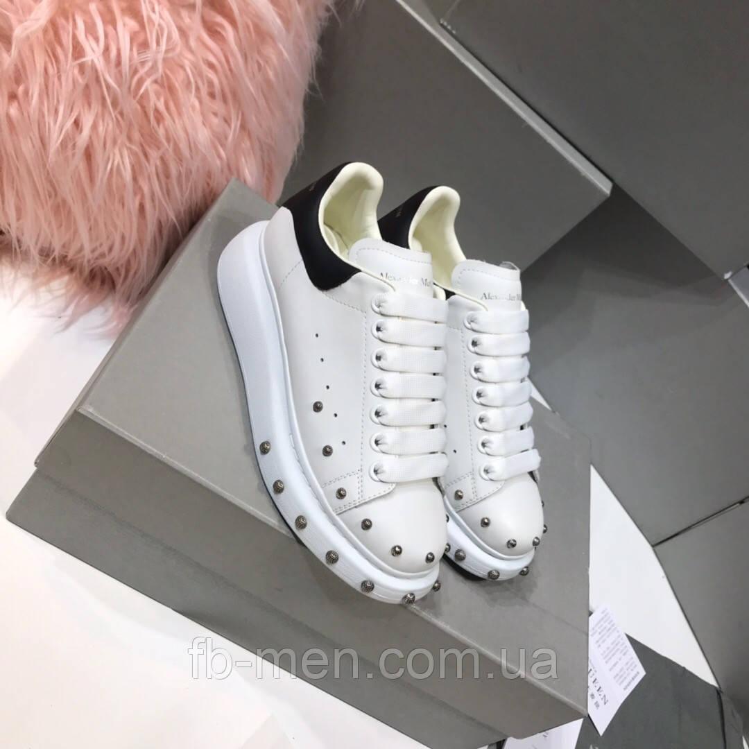 Кроссовки белые Alexander McQueen
