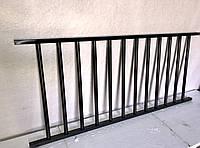 Секционный забор, металический забор