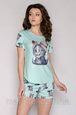 Молодежная пижама кошка 04-5, фото 2
