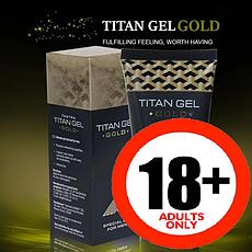 Титан Гель Голд Titan Gel Gold крем гель-лубрикант для потенції Росія, офіційний сайт
