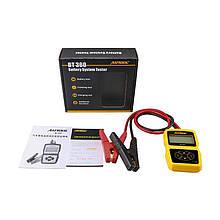 Цифровой тестер для автомобильных аккумуляторов AUTOOL BT360 12V русскоязычная версия Желтый (950057196)
