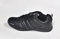 Женские кроссовки Bona, кожаные, черные, Р. 37 38 39