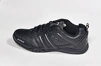 Женские кроссовки Bona, кожаные, черные, фото 1