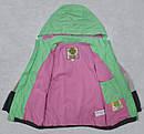 Детская ветровка  в полоску с хлопковой подкладкой (QuadriFoglio, Польша), фото 5