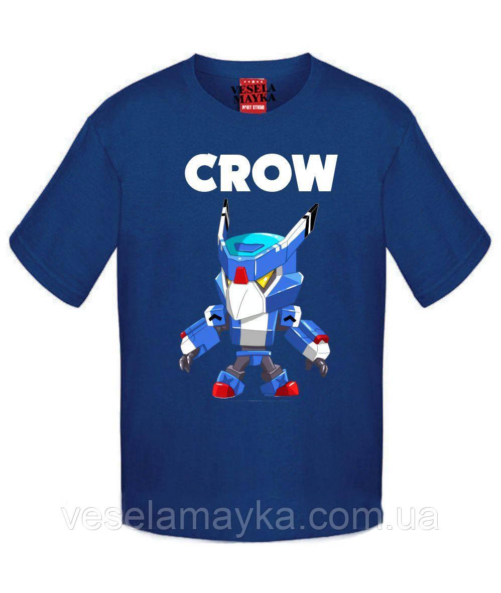 Детская футболка BS Crow Mecha 3 (Ворон Меха)