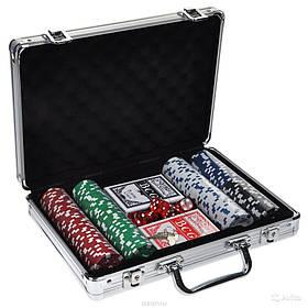 Покерний набір в кейсі, Покерный набор в кейсе