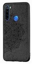 Wolfru тканинний чохол протиударний Xiaomi Redmi Note 8 Pro з майданчиком під магнітний тримач Колір Чорний