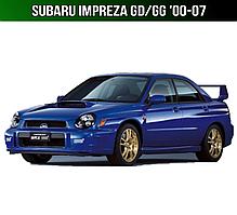 ЄВА килимки Subaru Impreza GD/GG '00-07. Автоковрики EVA Субару Імпреза