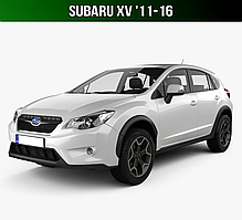 ЄВА килимки на Subaru XV '11-16. Автоковрики EVA Субару ХВ