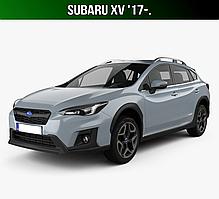 ЄВА килимки Subaru XV '17-. Автоковрики EVA Субару ХВ