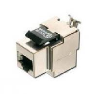 Разъём компьютерный экранированный RJ-45 5Е категории стандарту WE Hager Lumina 2 (11014701)