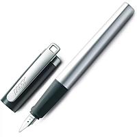Ручка Чернильная Lamy Nexx M Матовый Хром с Чёрным колпачком A / Чернила T10 Синие (4014519282082)
