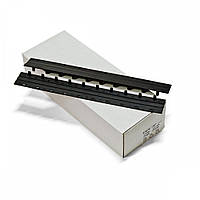 Пластины Press-binder 15мм черн, уп/50.