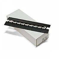 Пластины Press-binder 20мм черн, уп/50