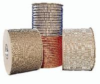 Мет. пружины в бобине  9,5мм серебр А 42 000 колец