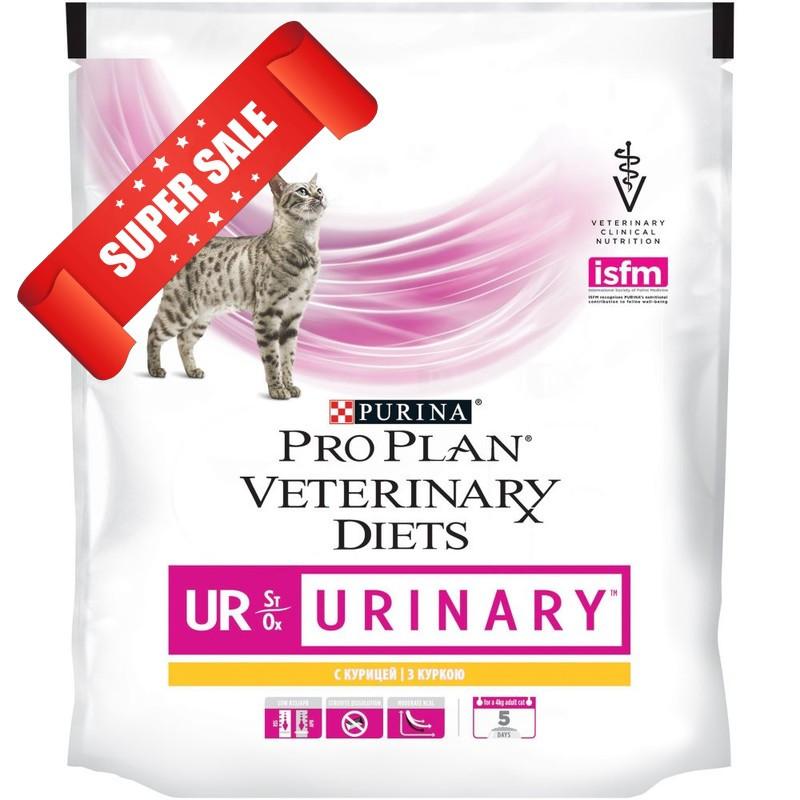 Лечебный сухой корм для кошек Purina Pro Plan Veterinary Diets UR Urinary 1,5 кг