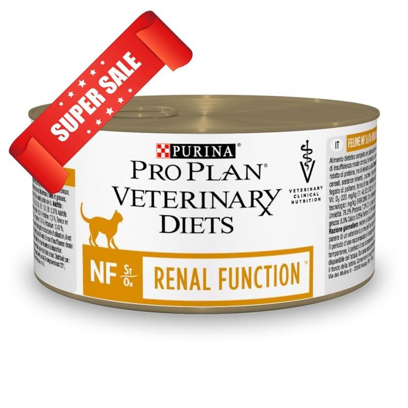 Лечебный влажный корм для кошек Purina Pro Plan Veterinary Diets NF Renal Function 195 г