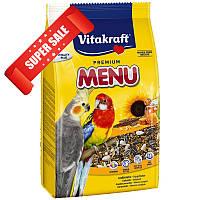 Корм для нимф и больших попугаев Vitakraft Premium Menu 1 кг