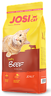 JosiCat Tasty Beef сухий  корм для котів з яловичиною
