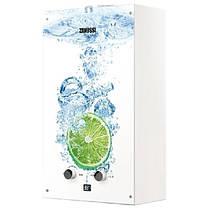 Газовая колонка Zanussi GWH 10 Fonte Glass Lime GWH10FONTEGLASSLIME, фото 3