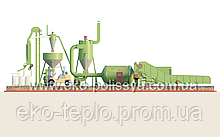 Линия гранулирования на базе АВМ 0-65 и ОГМ 1,5