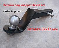Фаркоп вставка под квадрат 32x32 мм, квадрат вставка для американского фаркопа, Вставка 32х32 мм