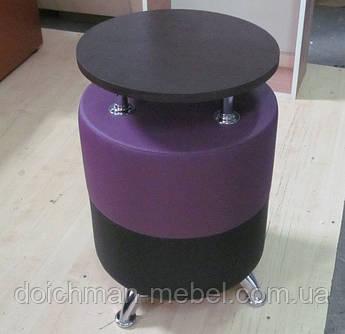 Кофейный столик круглый