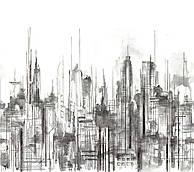 Skyline Mural 3m