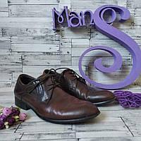Мужские туфли Chester коричневые