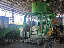 Линия брикетирования тип NESTRO 1 тонна в час