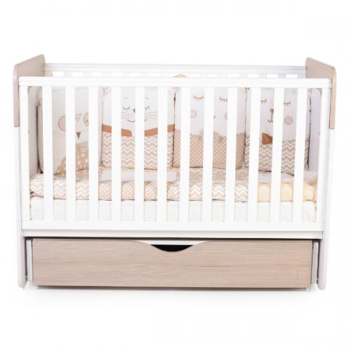Детская кроватка Верес Сидней цвет Капучино-Белый