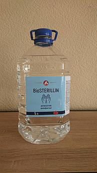 Антисептик BioSTERILLIN дезинфектант для рук Антибактериальный 5 л.