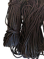 Резинка шляпная 3мм круглая Черная 91м
