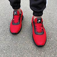 Красные мужские кроссовки в стиле Nike, фото 1