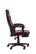 Кресло VR Racer Dexter Webster черный/красный АМФ, фото 2
