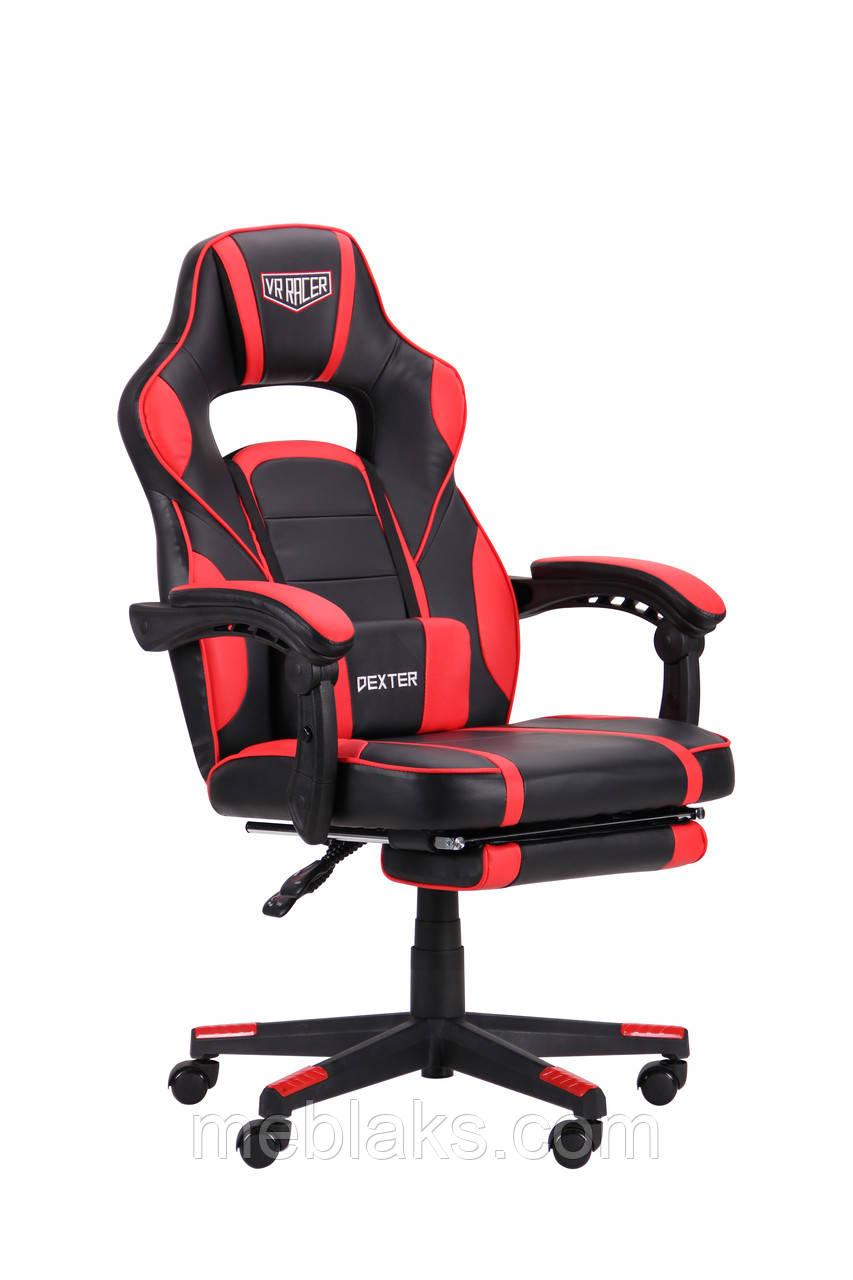 Кресло VR Racer Dexter Webster черный/красный АМФ