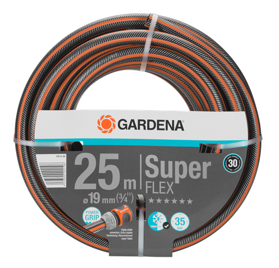 "Шланг SuperFlex Ø19мм (3/4"") 25м Gardena"