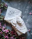 Нарядный конверт, одеяло для новорожденного весна/осень, фото 6