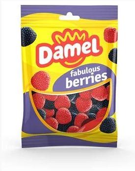Жуйки Damel 100г Berries ягоди, фото 2