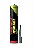 Герметик для швів 310 (чорний) CROCODILE (12)