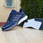 Мужские кроссовки Adidas Nova Run (синие) 10055, фото 4