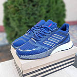 Мужские кроссовки Adidas Nova Run (синие) 10055, фото 5