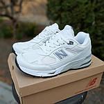 Женские кроссовки New Balance 991 (бело-серые) 20045, фото 7