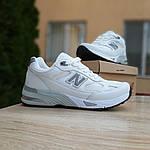 Женские кроссовки New Balance 991 (бело-серые) 20045, фото 9