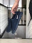 Женские кроссовки Nike Free Run 3.0 (темно-синие) 9212, фото 2