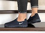 Женские кроссовки Nike Free Run 3.0 (темно-синие) 9212, фото 4