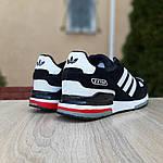 Мужские кроссовки Adidas zx 750 (черные) 10061, фото 4