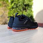 Мужские кроссовки Nike Air Presto (черно-оранжевые) 10064, фото 2