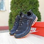 Мужские кроссовки Nike Air Presto (черно-оранжевые) 10064, фото 8
