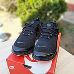 Мужские кроссовки Nike Air Presto (черно-оранжевые) 10064, фото 9